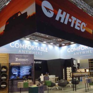 Hi-Tec Choose Equinox for IPSO 2017 Stand